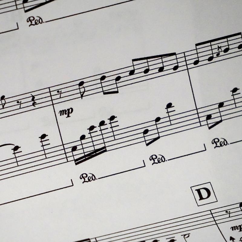 Dallas Piano Lesson Sheet Music