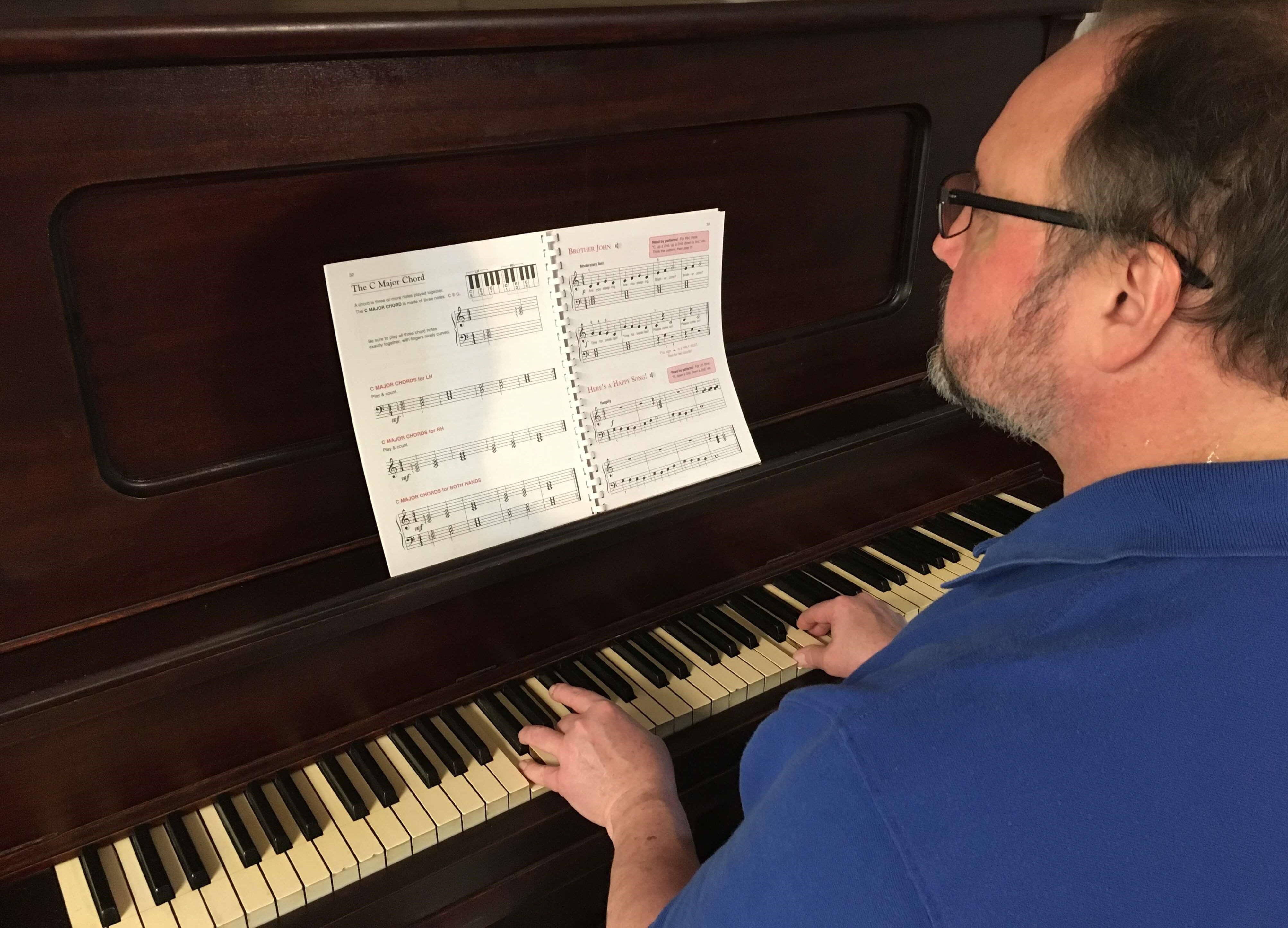 Adult Dallas Piano Lessons