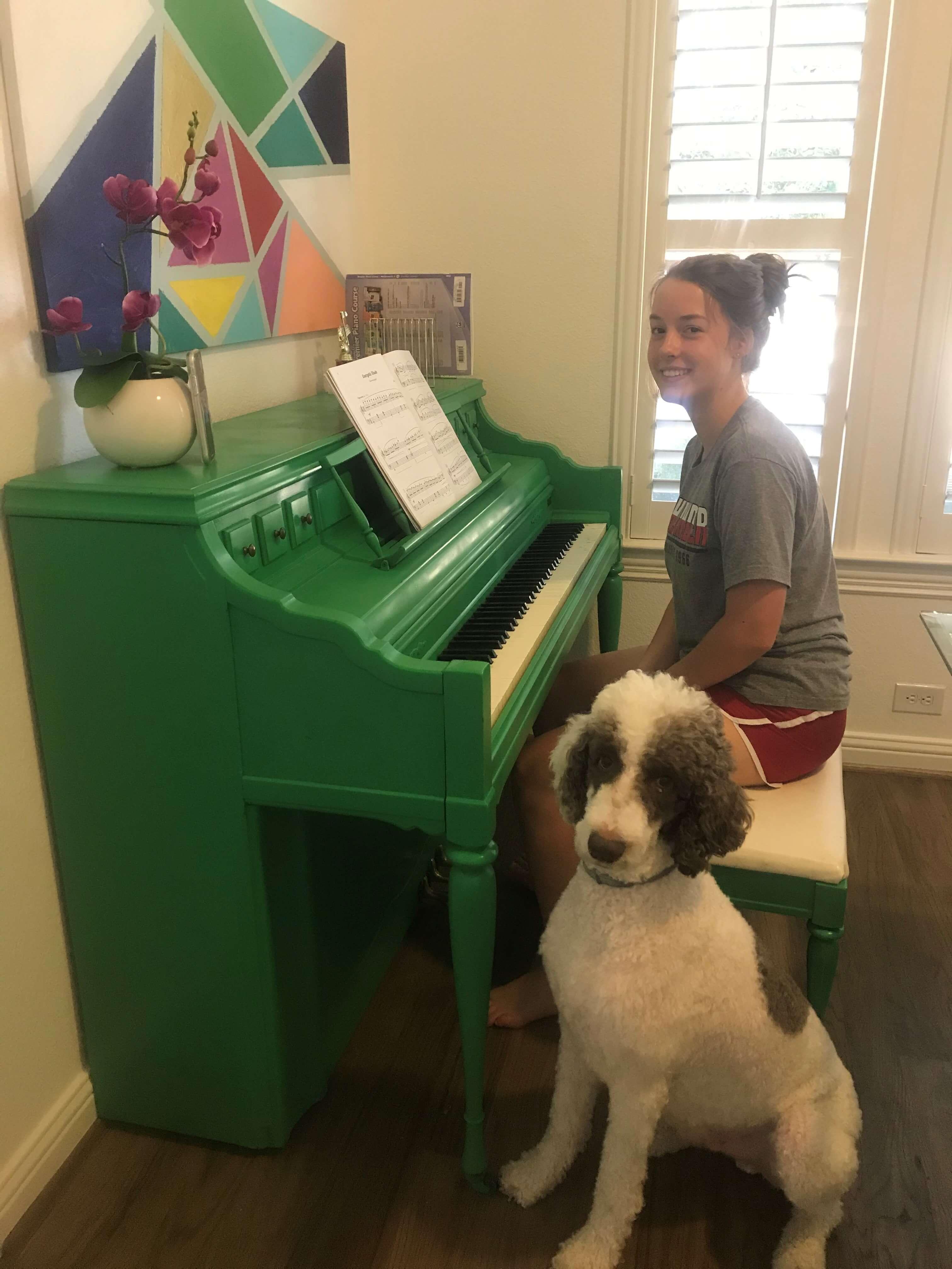 Dallas Piano Lesson in Lake Highlands