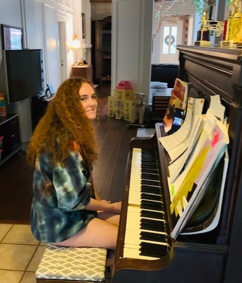 Piano Student of Dallas Piano Academy