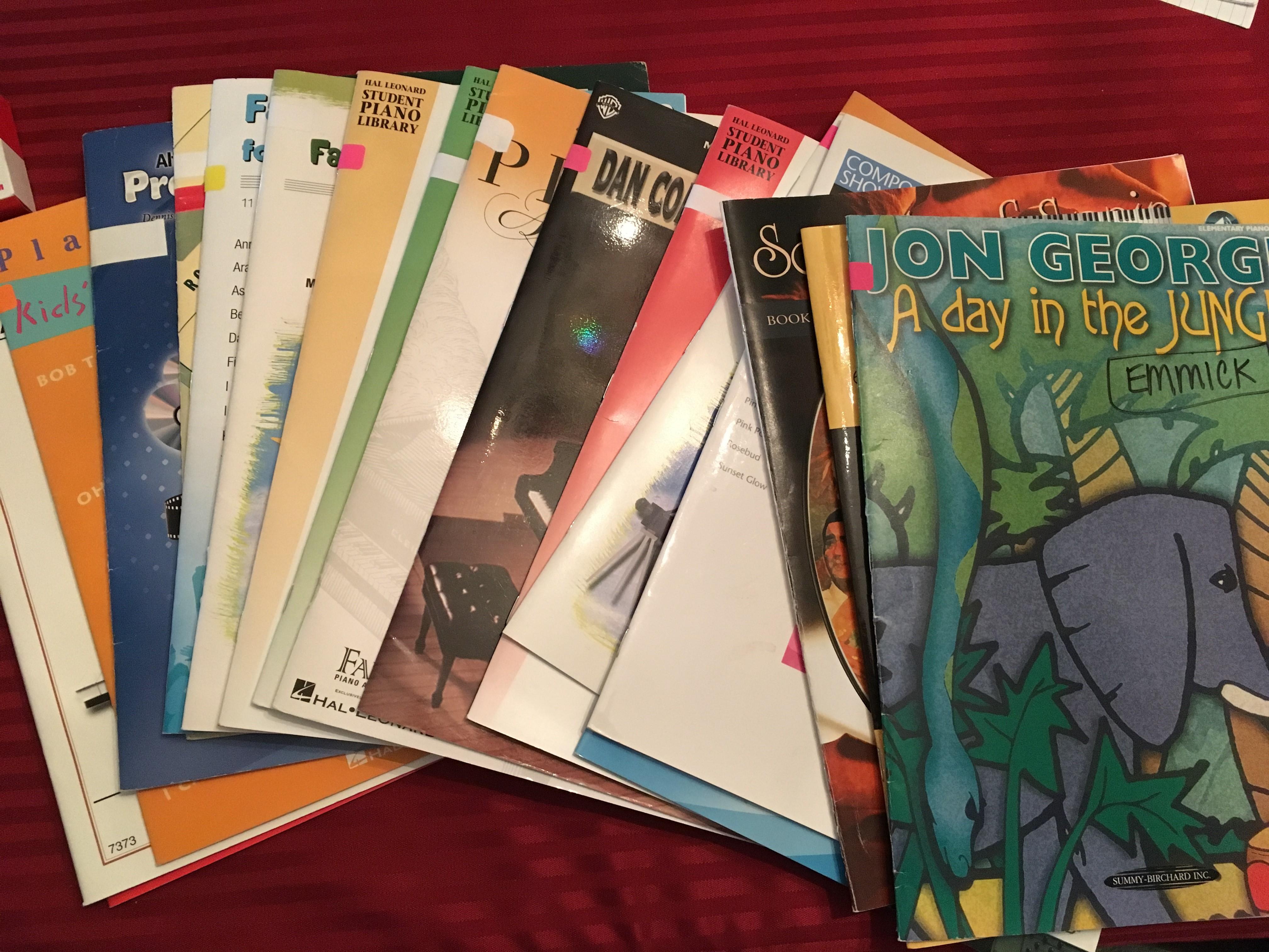 Dallas Piano Lessons Books