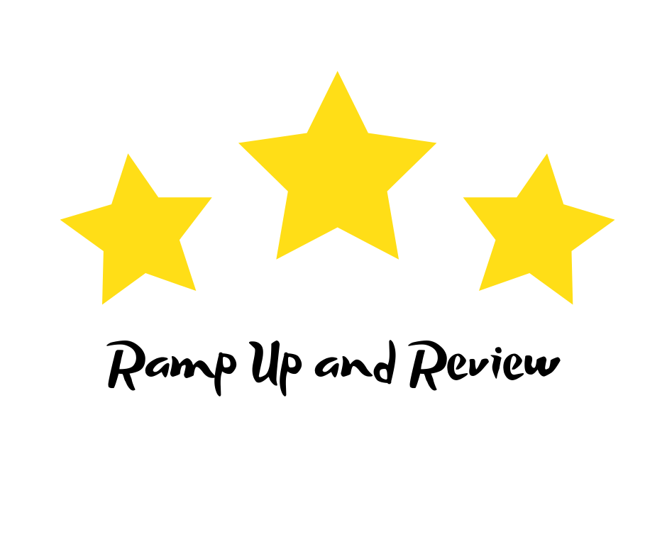 Piano Ramp Up and Review